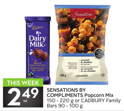 Sensations By Compliments Popcorn Mix