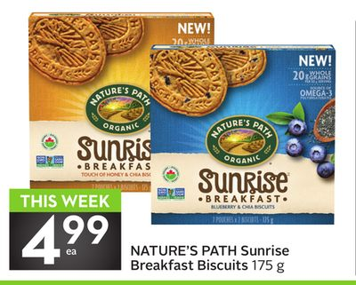Nature's Path Sunrise Breakfast Biscuits