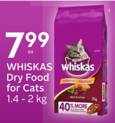 Whiskas Dry Food For Cats