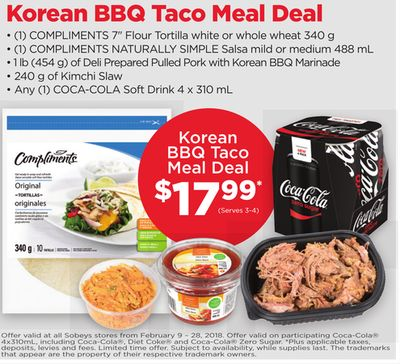 Korean Bbq Taco Meal Deal