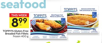Toppits Gluten-free Breaded Fish Fillets