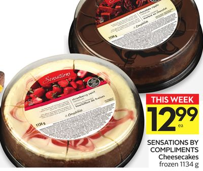 Sensations By Compliments Cheesecakes