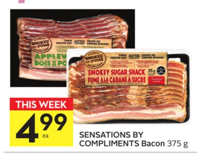 Sensations By Compliments Bacon