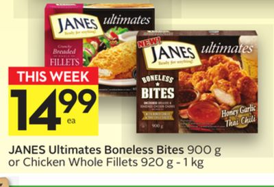 Janes Ultimates Boneless Bites