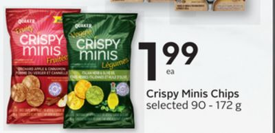 Crispy Minis Chips - 15 Air Miles Reward Miles