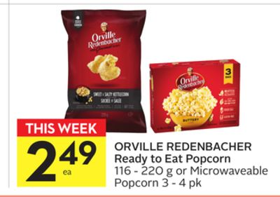 Orville Redenbacher Ready To Eat Popcorn