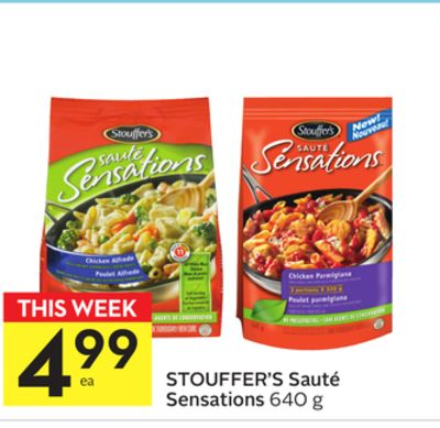 Stouffer's Sauté Sensations
