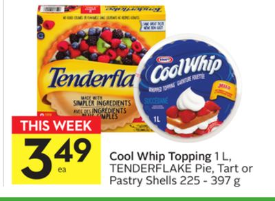 Cool Whip Topping