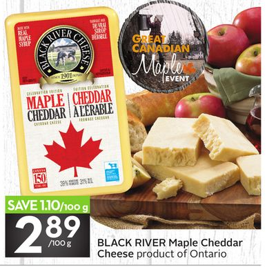 Black River Maple Cheddar Cheese