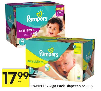 Pampers Giga Pack Diaper