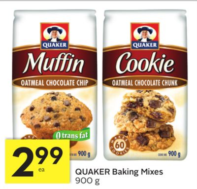 Quaker Baking Mixes