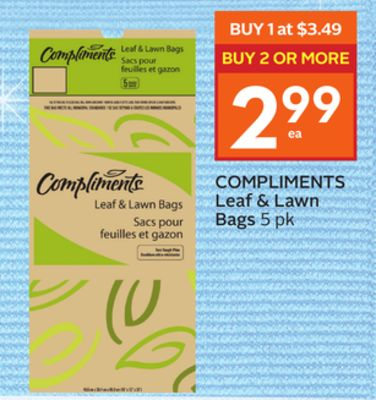 Compliments Leaf & Lawn Bags