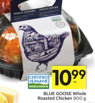 Blue Goose Whole Roasted Chicken