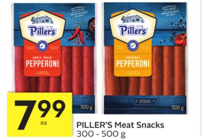 Piller's Meat Snacks