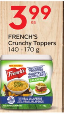 French's Crunchy Toppers