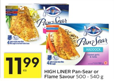 High Liner Pan-sear or Flame Savour