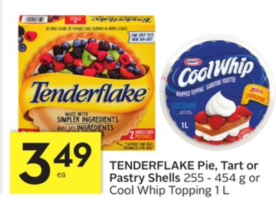 Tenderflake Pie - Tart or Pastry Shells