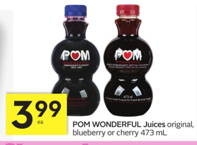 POM Wonderful Juices