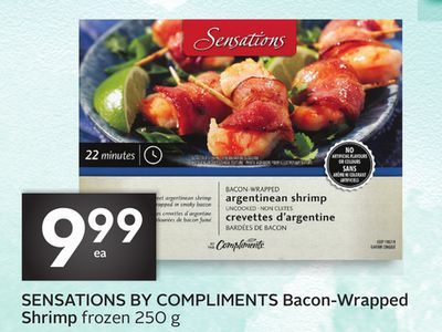Sensations By Compliments Bacon-wrapped Shrimp