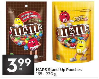 Mars Stand-up Pouches