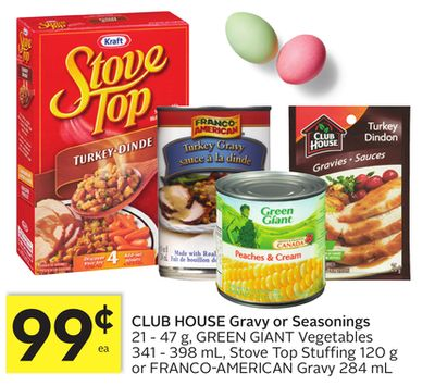 Club House Gravy or Seasonings