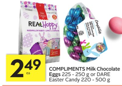 Compliments Milk Chocolate Eggs