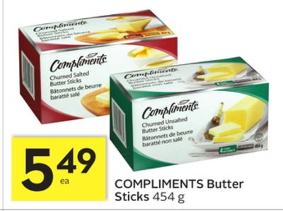Compliments Butter Sticks