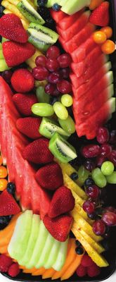Fruit and Vegetable Party Platters