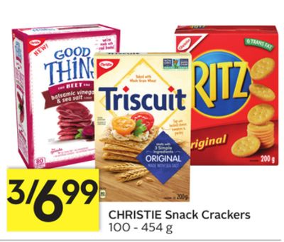 Christie Snack Crackers