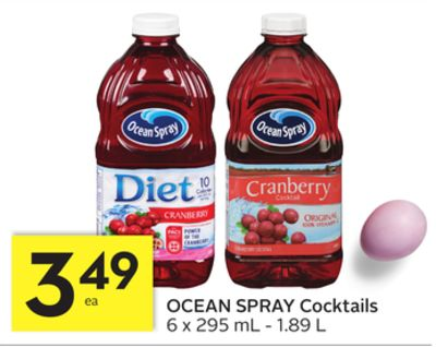 Ocean Spray Cocktails