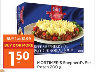 Mortimer's Shepherd's Pie