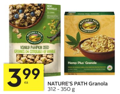 Nature's Path Granola