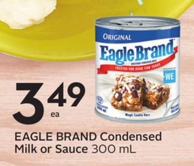Eagle Brand Condensed Milk or Sauce