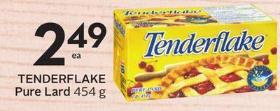 Tenderflake Pure Lard - 5 Bonus Air Miles