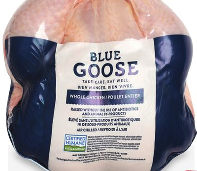 Blue Goose Whole Chicken