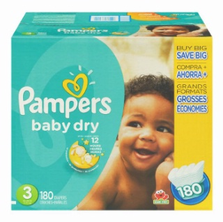 Pampers Club Size Plus Diapers
