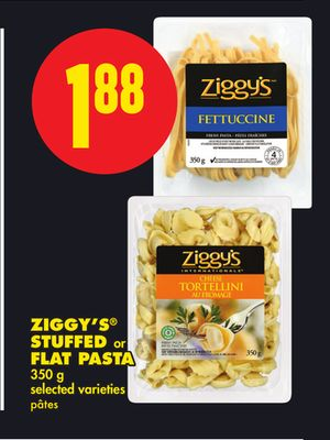 Ziggy's Stuffed or Flat Pasta - 350 g