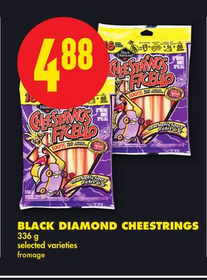 Black Diamond Cheestrings - 336 g