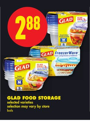 Glad Food Storage