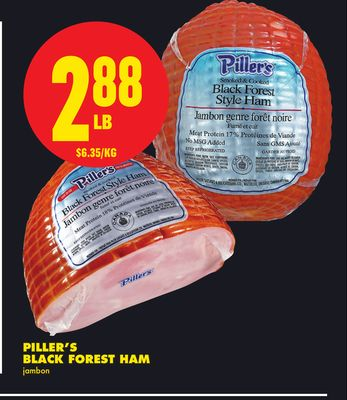 Piller's Black Forest Ham