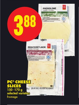 PC Cheese Slices - 150 -170 g
