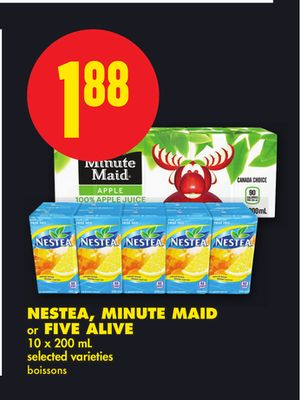 Nestea - Minute Maid or Five Alive 10 X 200 mL
