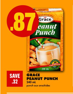 Grace Peanut Punch - 240 mL