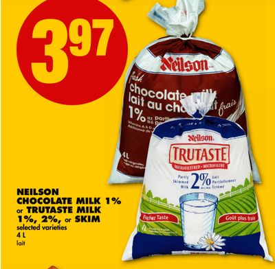 Neilson Chocolate Milk 1% or Trutaste Milk 1% - 2% - or Skim