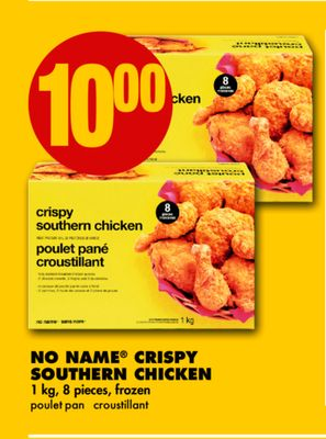 No Name Crispy Southern Chicken - 1 Kg - 8 Pieces