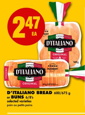 D'italiano Bread Or Buns
