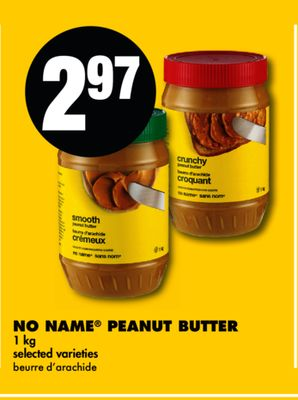 No Name Peanut Butter - 1 Kg