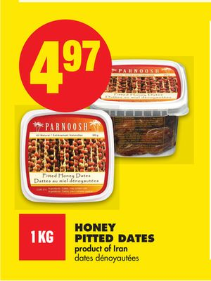 Honey Pitted Dates