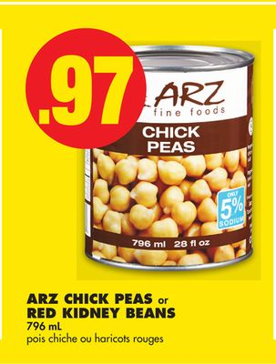 Arz Chick Peas or Red Kidney Beans