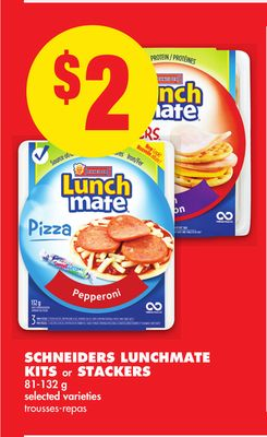 Schneiders Lunchmate Kits or Stackers
